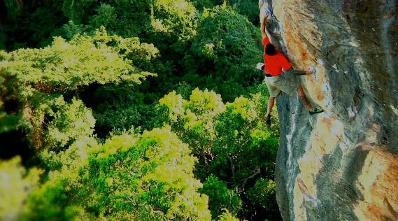 Pra Caramba: free soloing in Brasil, Cedar Wright