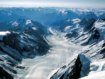 Tiedemann Glacier , David Knudson