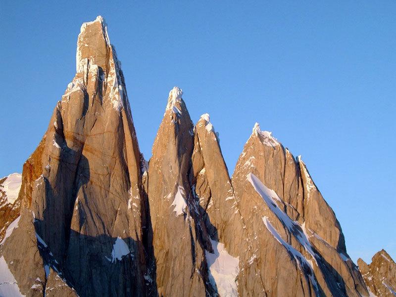 Cerro Torre, Torre Egger, Punta Herron, Torre Standhardt, Luca Maspes