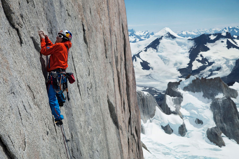 David Lama making the first free ascent of the Compressor Route, Cerro Torre, Patagonia 20-21 January 2012., Rich/Else – Red Bull Content Pool