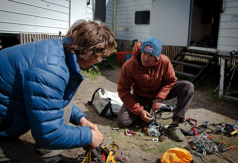 David Lama and Peter Ortner, February 2011, Rich/Else – Red Bull Content Pool