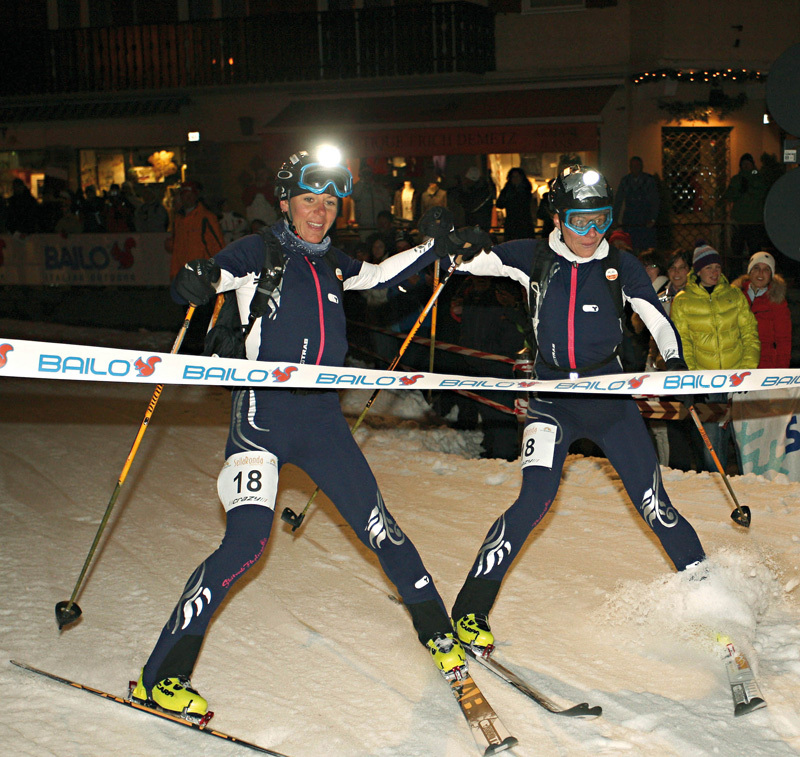 Roberta Pedranzini and Francesca Martinelli winning the 16th Sellaronda 2011., NewsPower
