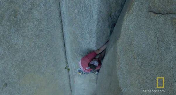 Dean Potter, free solo su El Capitan in Yosemite, National Geographic TV