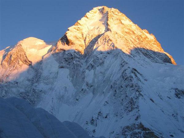 Il K2 dal versante nord, Luca Vuerich