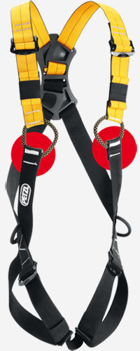 As a precautionary measure, Petzl is asking all of its customers to inspect the safety stitching on the loops of the sternal attachment point on all NEWTON harnesses., Petzl
