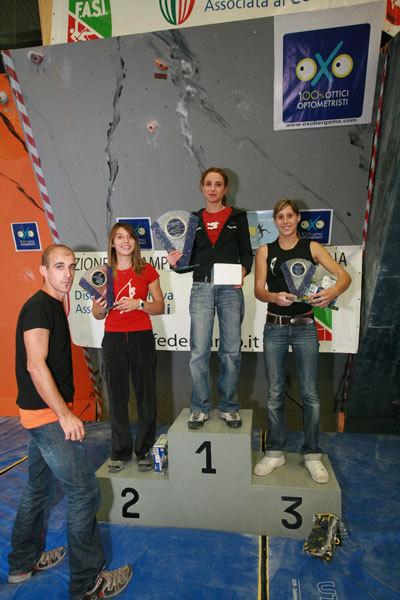 il podio femminile, Mauro Baio