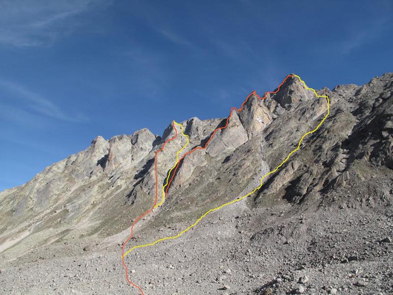 Gou Gou Peak, Gerhard Schaar
