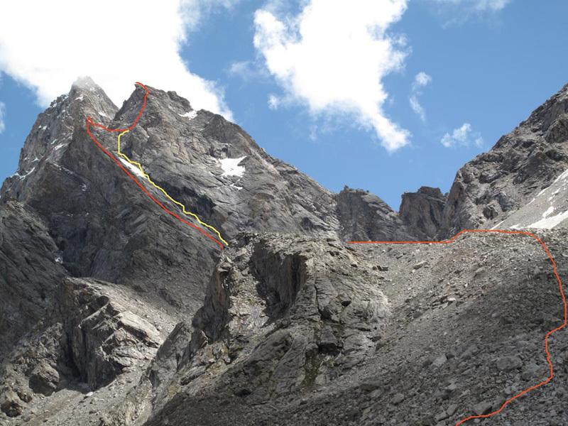 Gutzeke Peak, Gerhard Schaar