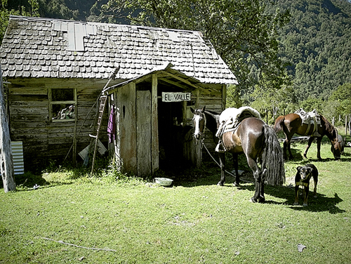 Der Grantler, aperta nel febbraio 2011 dai tedeschi Frank Kretschmann e Mario Gliemann sul Cerro Trinidad Sur nella Valle Cochamo. , Frank Kretschmann