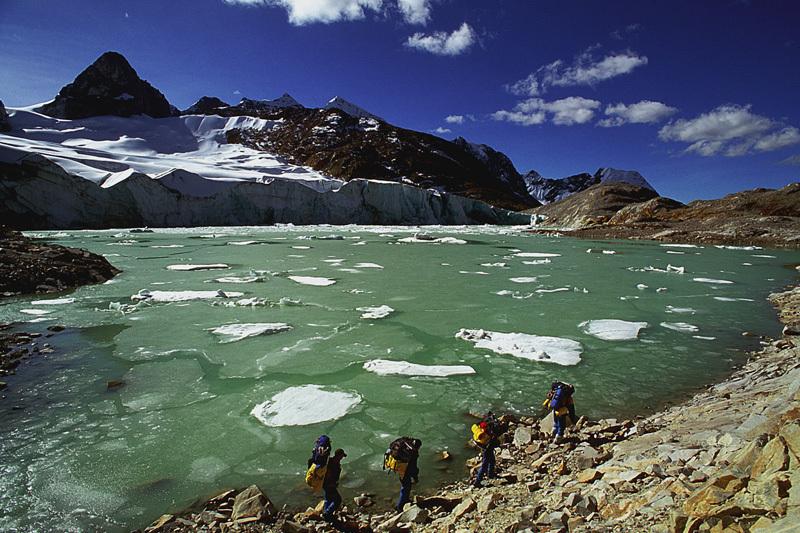 Al partir por los Andes, Franco Michieli