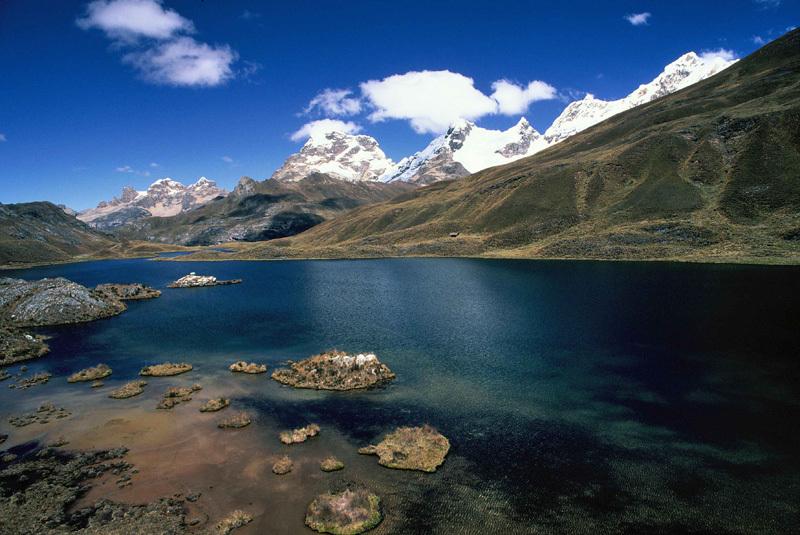 Cordilleras Huallanca, Blanca, Huayhuash, Raura, Negra, Franco Michieli