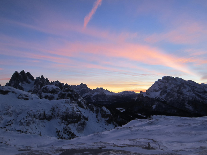 01/2012: Simon Gietl & Daniel Tavernin, ISO 2000, Tre Cime di Lavaredo, Dolomites, archivio Simon Gietl