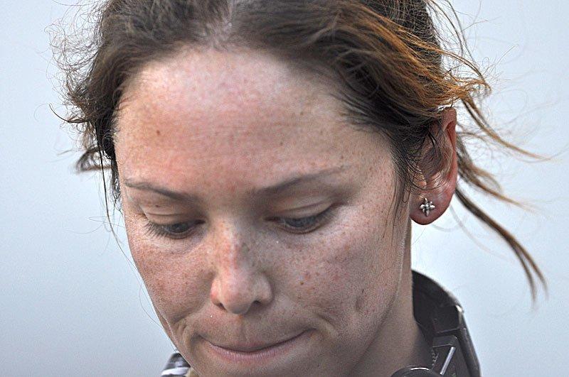 Caroline Ciavaldini al Campionato del Mondo 2011 ad Arco , Giulio Malfer