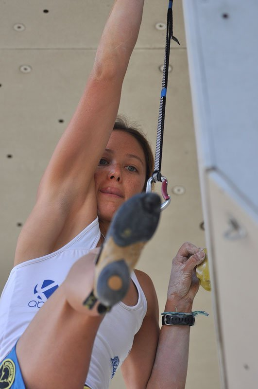 Caroline Ciavaldini at the 2011 Arco World Championship, Giulio Malfer