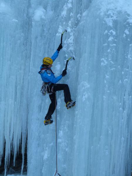Nuove cascate di ghiaccio in Val Porsiglia (TN) per Peter Moser e compagni, archivio Peter Moser