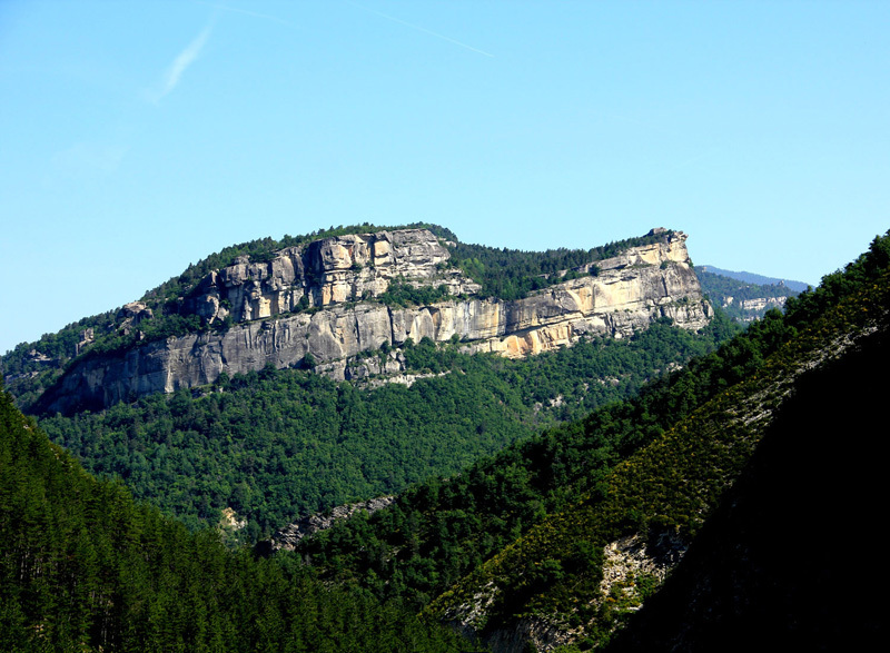 The French crag Annot,