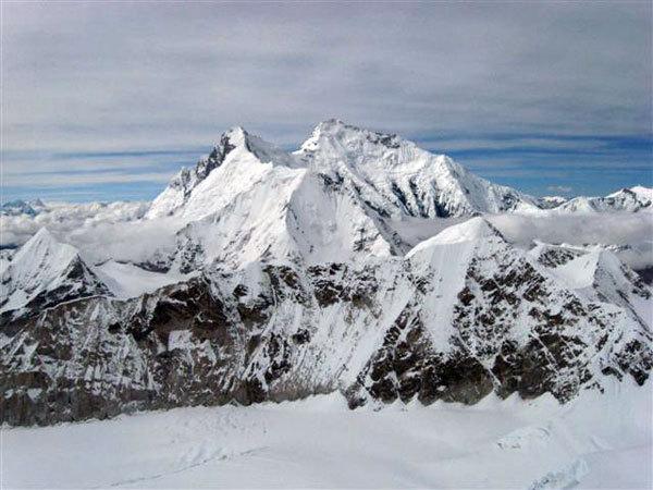 panorama verso il Lhotse e l'Everest, arch. Meroi-Benet
