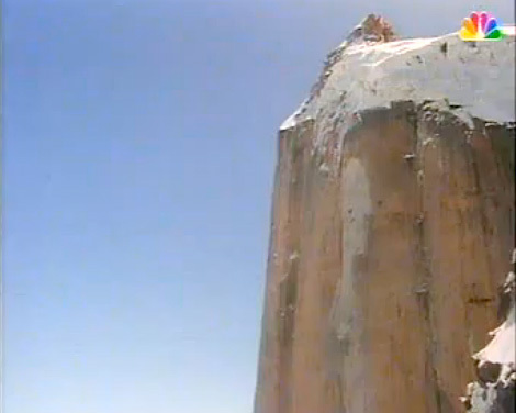 Il base jump di Glenn Singleman e Nic Feteris dal Great Trango Tower nel 1992., Glenn Singleman