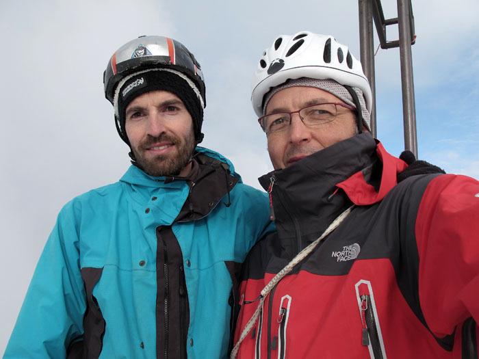 Fulvio Zanetti e Maurizio Panseri, archivio Maurizio Panseri