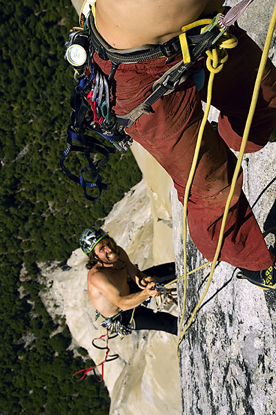 Alexander and Thomas Huber, The Nose 2:45:45, El Capitan, Yosemite, Max Reichl