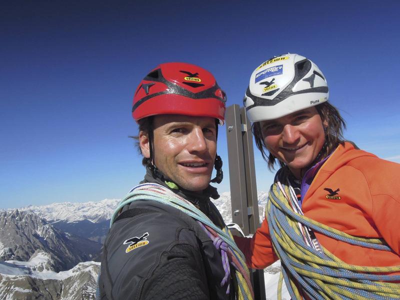 Roger Schäli e Simon Gietl, archivio Simon Gietl