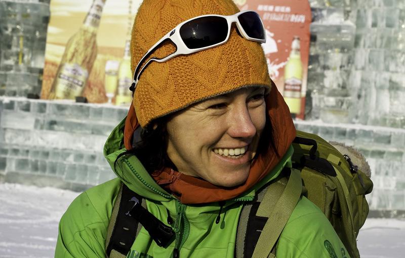 Piolets d'Or 2012: Ines Papert (membro della Giuria), Ines Papert