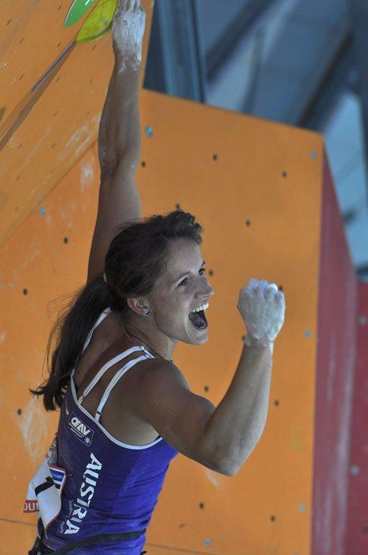 Anna Stöhr al Campionato del Mondo 2011 ad Arco, Giulio Malfer