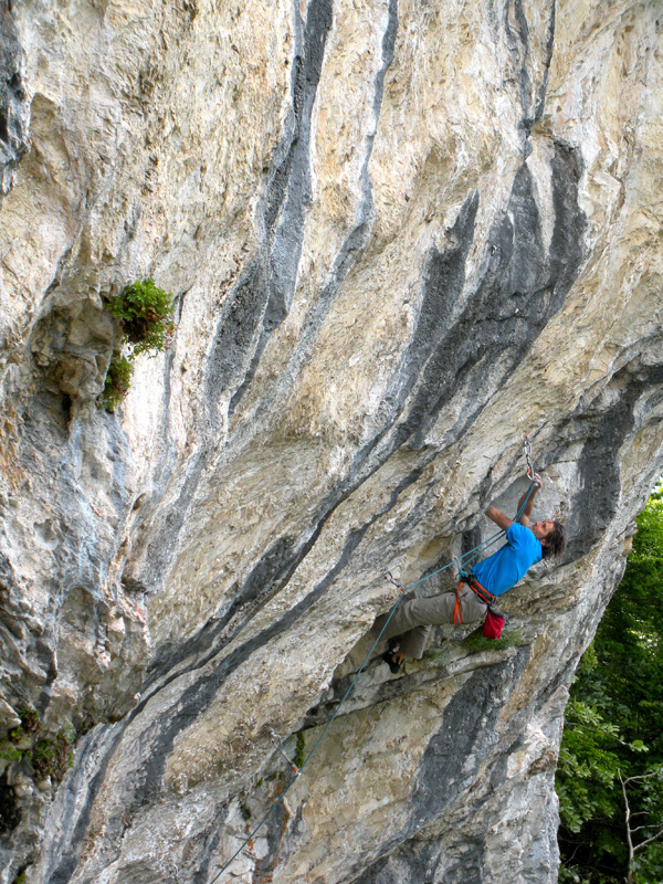 Bruno Revello on Smack my Crack 8a,
