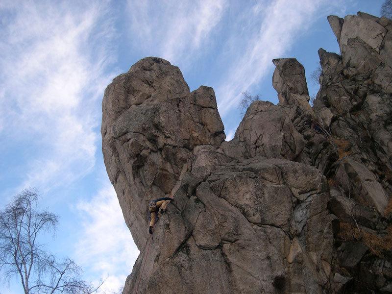 La cresta delle principesse (Mottarone), Alberto Paleari