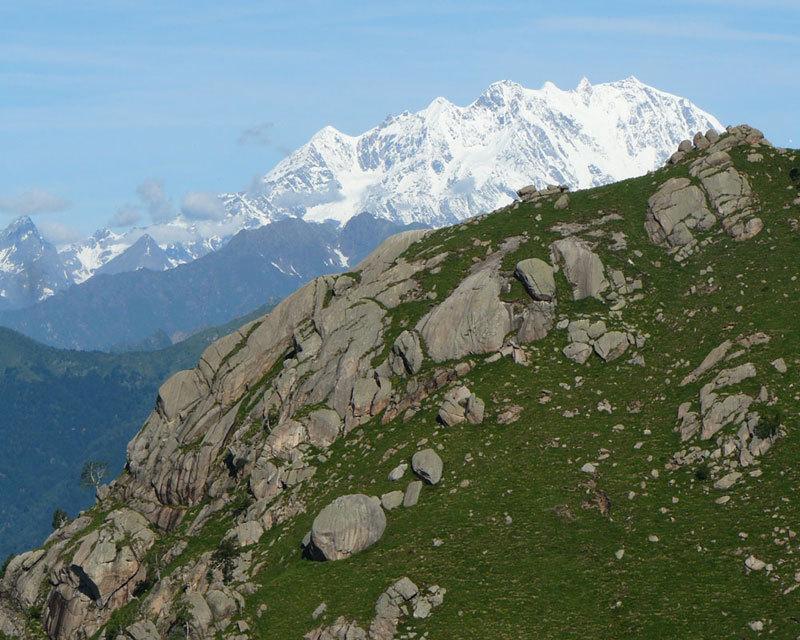 Monte Rosa dal Mottarone, Alberto Paleari