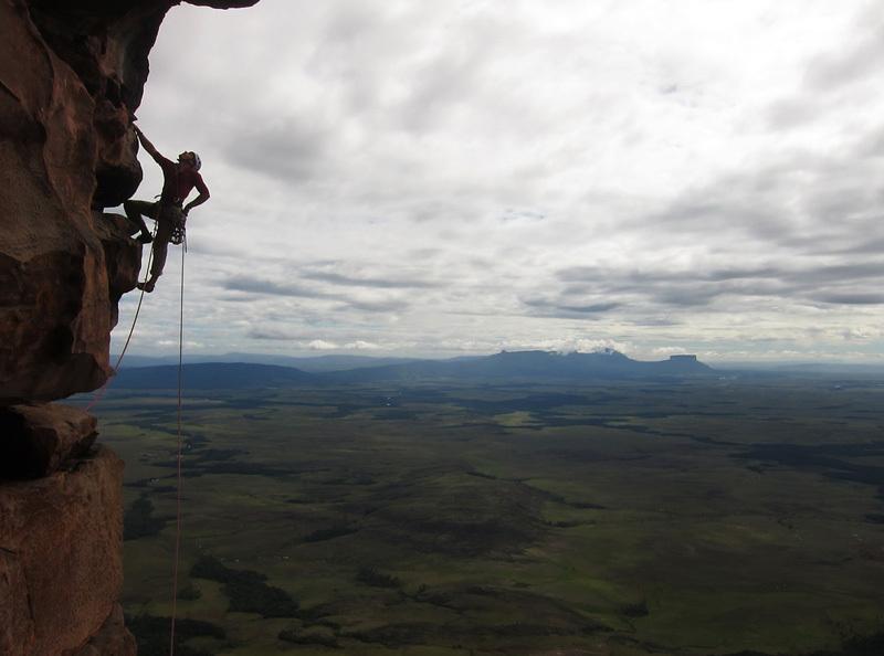 Luka Krajnc climbing the route Takamajaka, Matic Obid