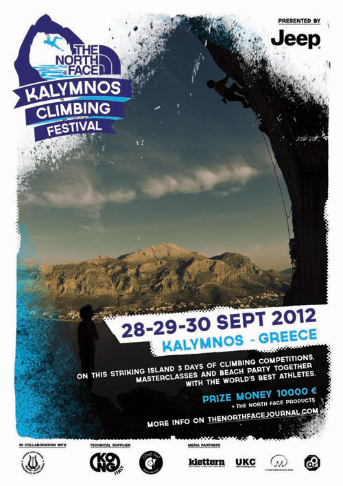 Dal 28 al 30 settembre 2012 il primo The North Face Kalymnos Climbing Festival., The North Face