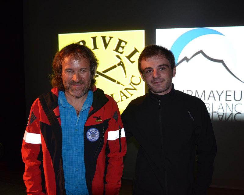 A Courmayeur con Christoph Hainz per Storie di montagna, arch. D. D'Elia