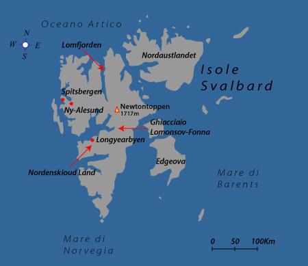 Svalbard - Spitsbergen, Luigi Trippa