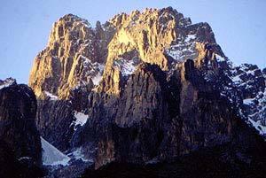 Monte Kenya parete nord, Manuel Lugli
