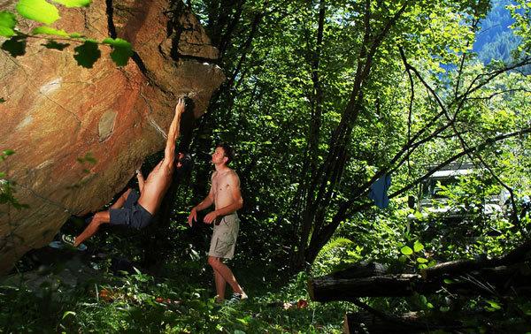 Nello scrigno del fondovalle, i tesori del boulder, Andrea Lenatti