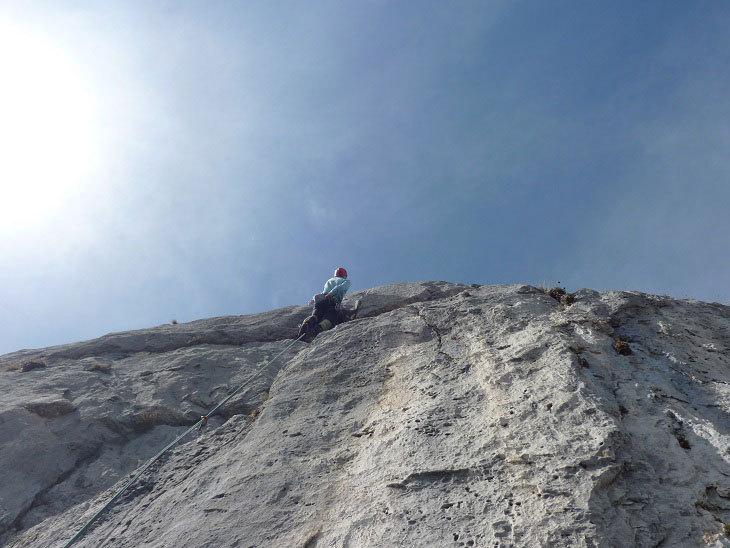 Roccia da favola in un angolo di grignia poco frequentato, Ivo Ferrari