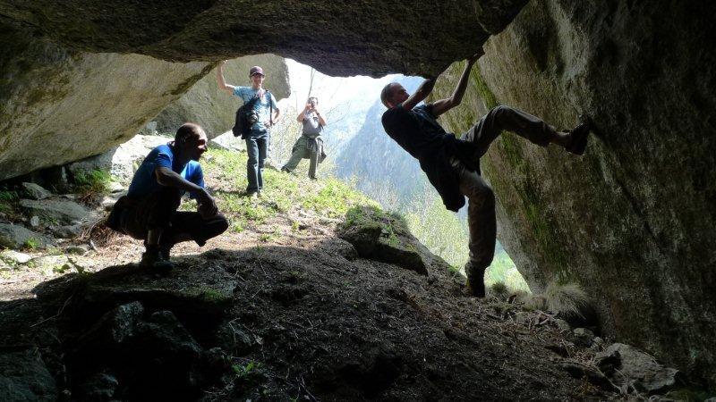 Melloblocco 2012: Neanderthal, Melloblocco