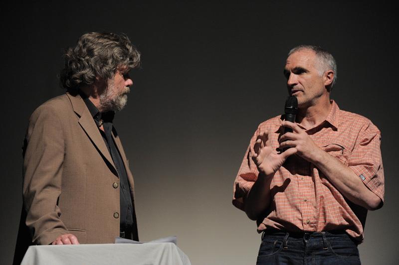 TrentoFilmfestival 2012: Reinhold Messner & Cristophe Profit, Dino Panato / TrentoFilmfestival 2012