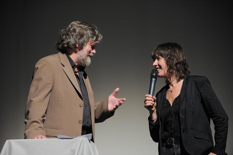 TrentoFilmfestival 2012: Reinhold Messner & Catherine Destivelle, Dino Panato / TrentoFilmfestival 2012