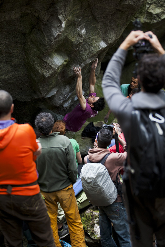 Melloblocco 2012: Michele Caminati, Klaus Dell'Orto