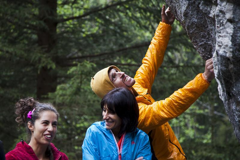 Melloblocco 2012: Daniela Feroleto, Giovanna Pozzoli & Mauro Calibani, Klaus Dell'Orto