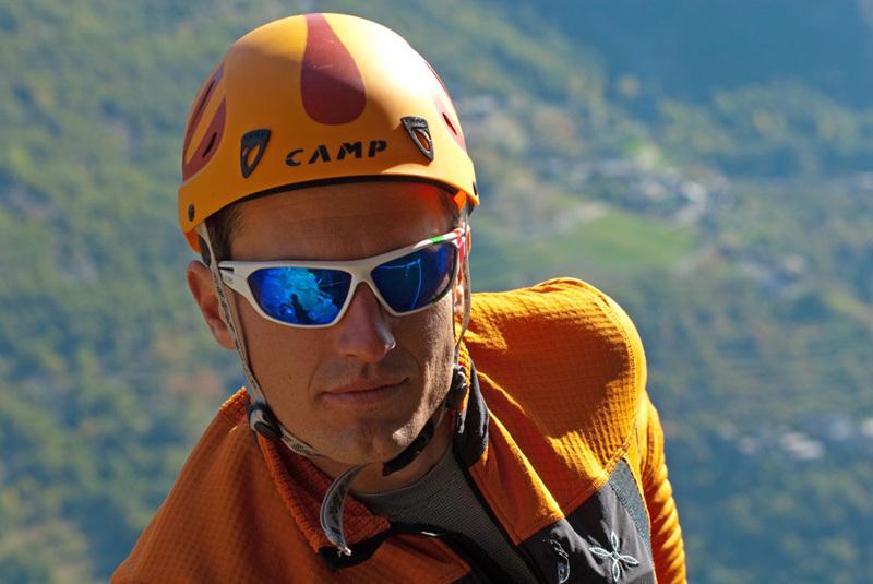 Arrampicata trad al Pilier Rhodo a Montjovet, Valle d'Aosta, Marco Spataro