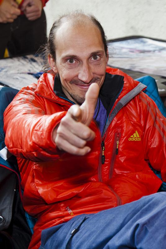 Melloblocco 2012: Simone Pedeferri, Klaus Dell'Orto