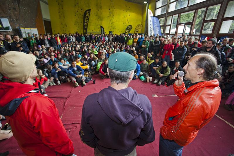 Melloblocco 2012: Stefano Scetti, Marco Ballerini & Simone Pedeferri, Klaus Dell'Orto