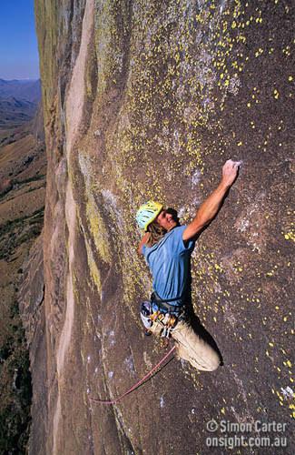 Manara-Potsiny (8a), Tsaranoro Be, Madagascar, Simon Carter