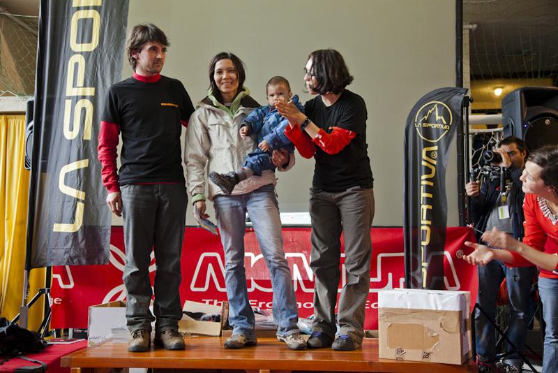 Melloblocco 2012: Olga Iakovleva 4 boulders, Klaus Dell'Orto