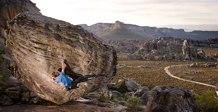 Tomorrow I Will Be Gone: bouldering at Rocklands in South Africa., Outcrop Films