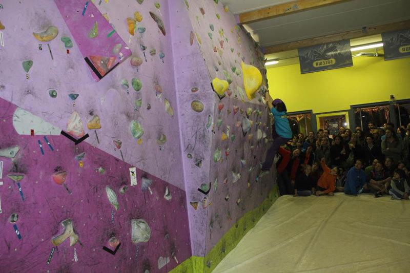 Una fase del Salewa RockShow 2012 di Verrès, Aosta, Salewa RockShow Verrès