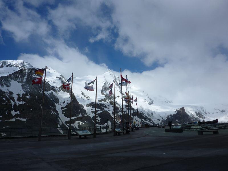 Grossglockner: Glocknerhaus car park, Guide Alpine Gruppo Kals am Großglockner